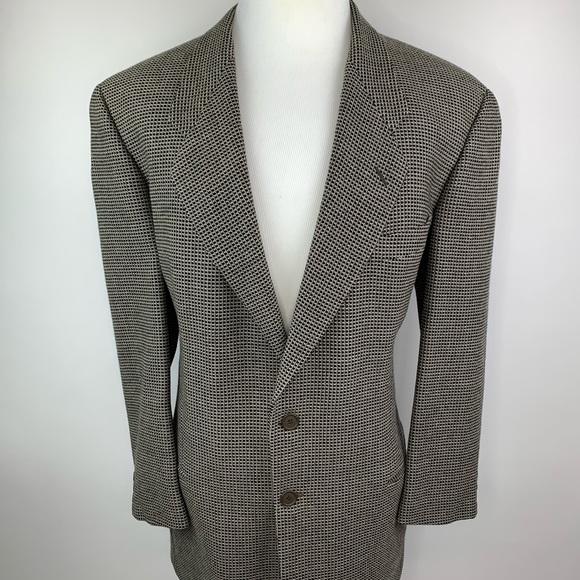 5f8682e22a7 Armani Collezioni Other - Giorgio Armani 44L Wool Blazer Sport Coat Italy